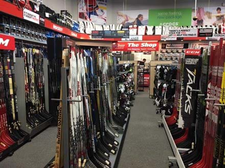 CCM & Bauer Composite & Wood Hockey Sticks